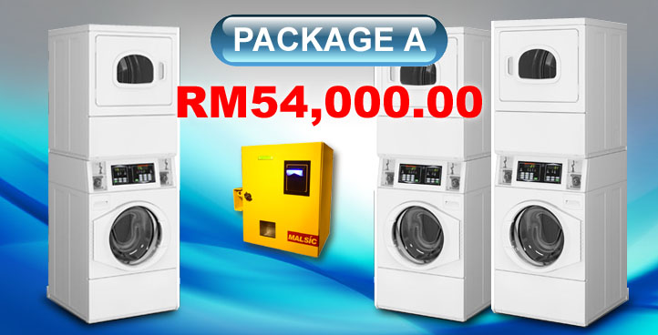 Coin Laundry Setup - Package A