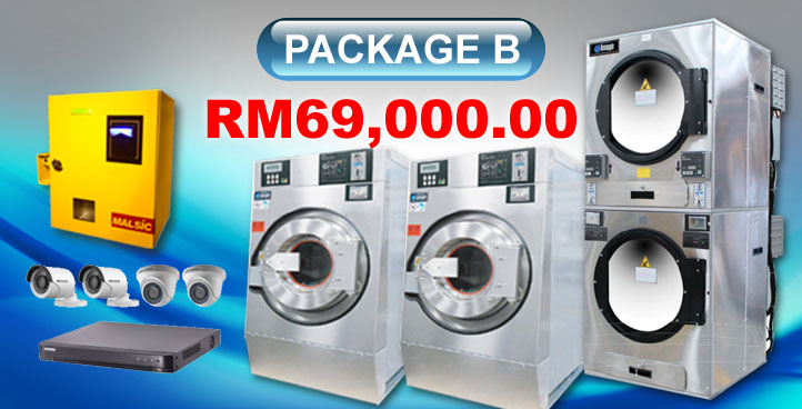 Coin Laundry Setup - Package B